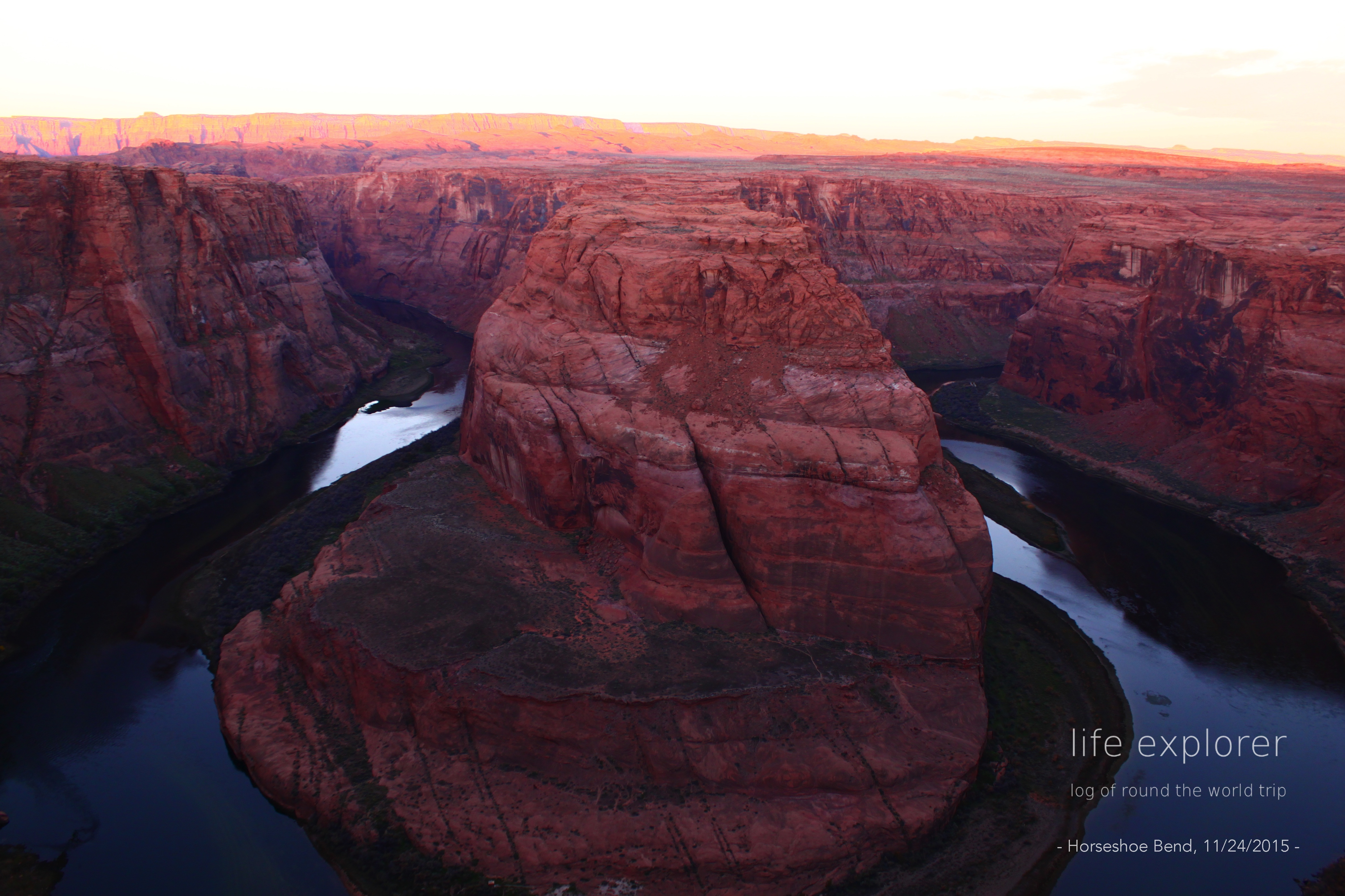 [Photo] 151118 US – Horseshoe Bend +α