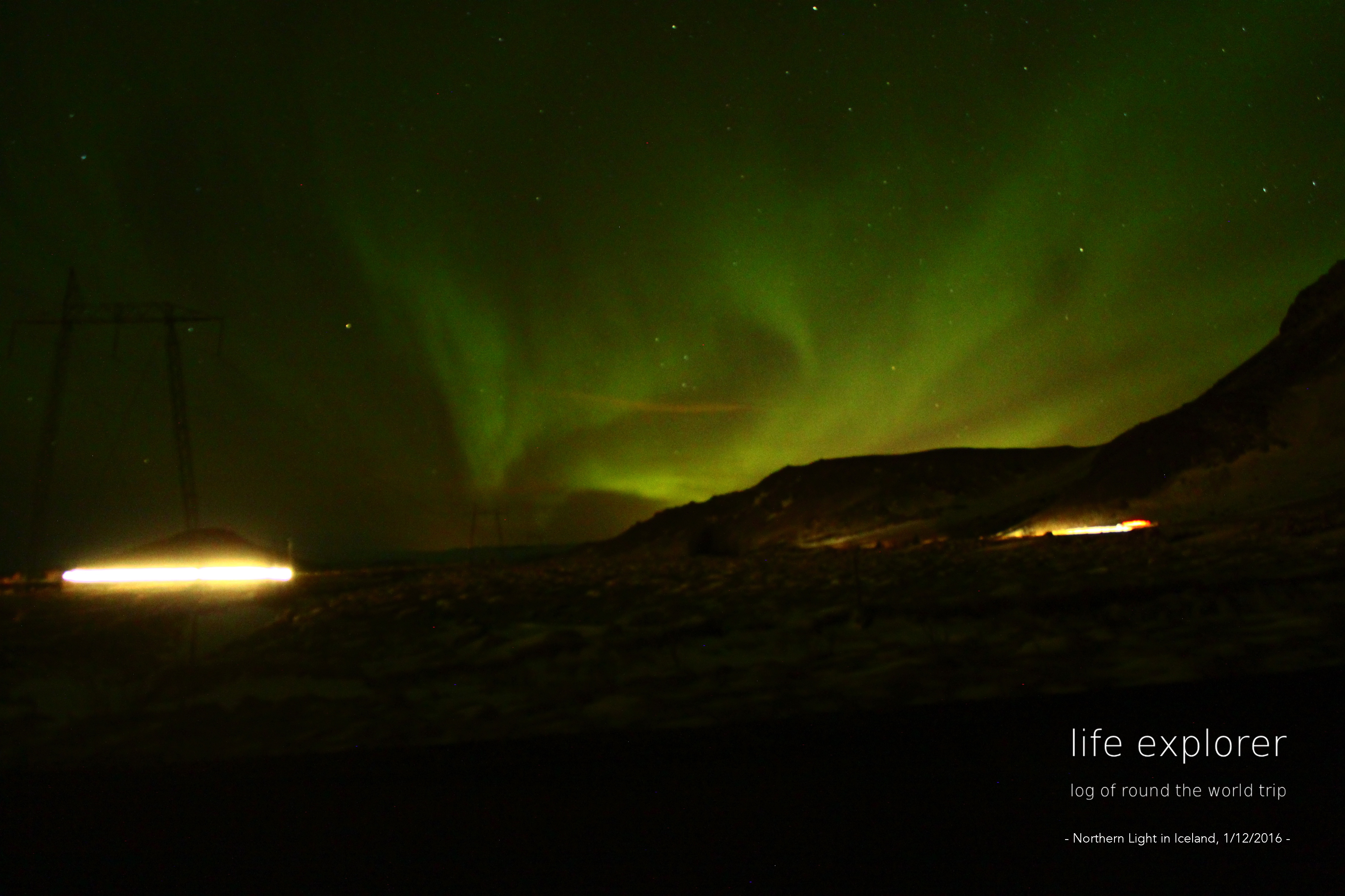 [Photo] 160112 Iceland – Northern Light