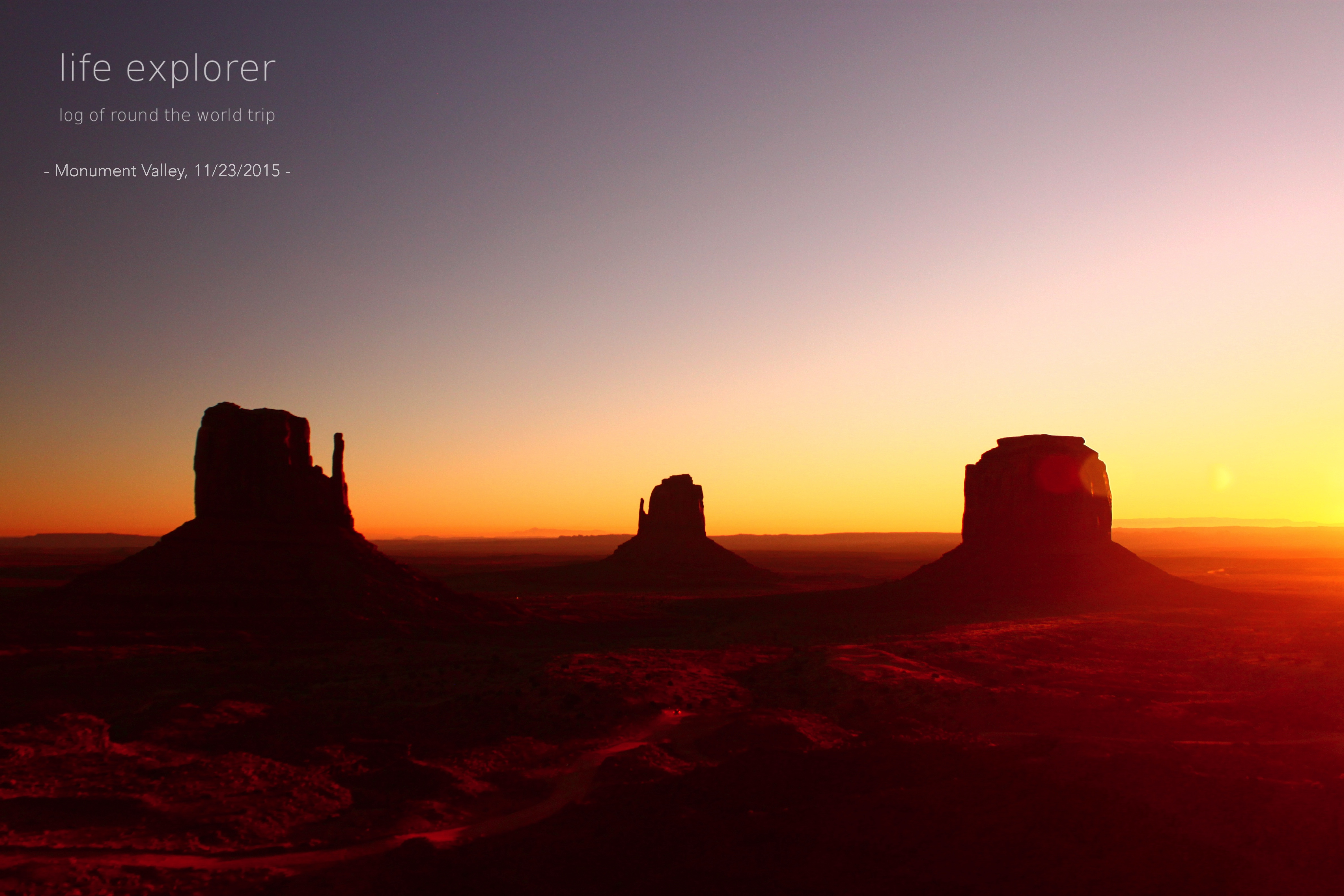 [Photo] 151122 US – Monument Valley