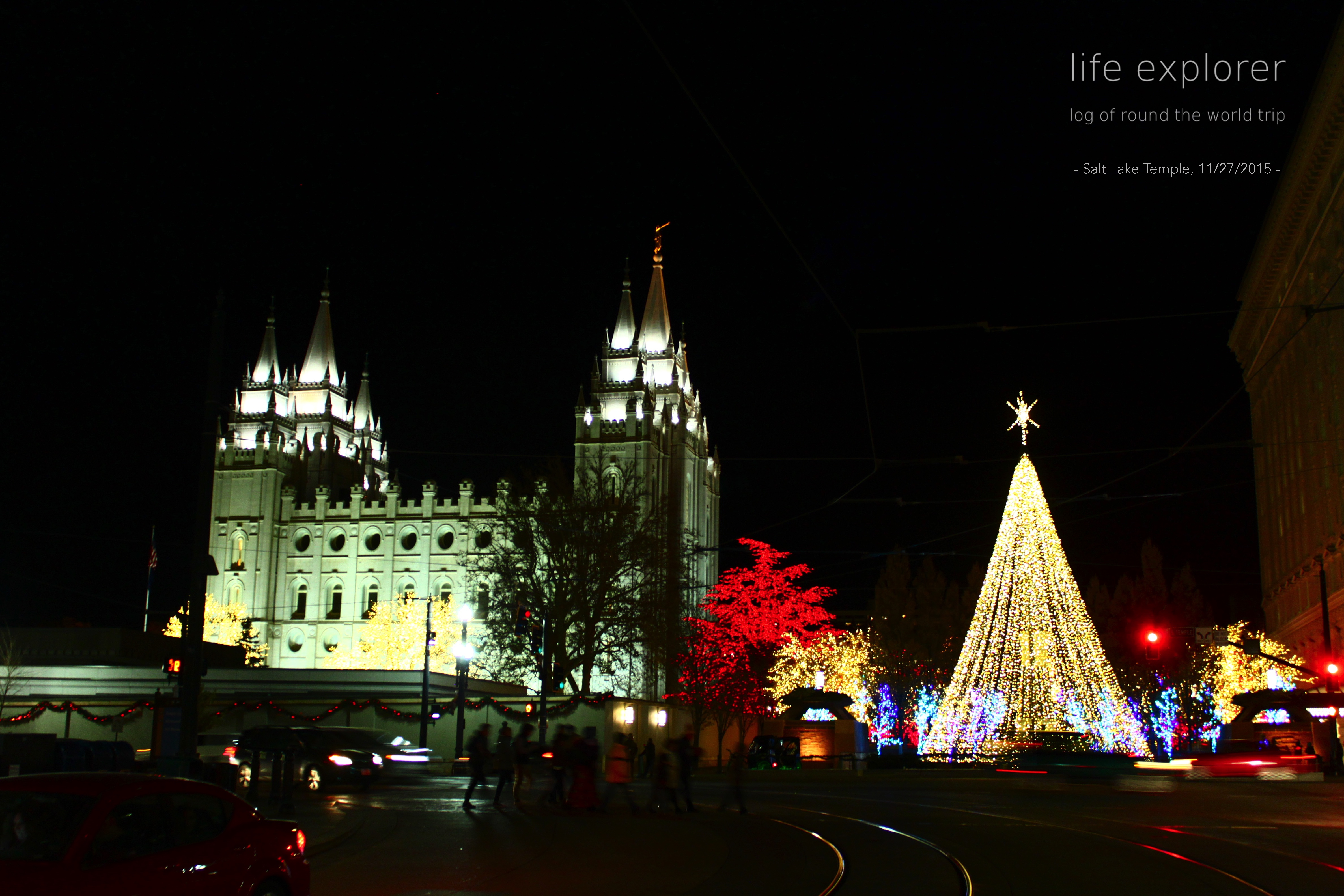 [Photo] 151127 US – Salt Lake Temple