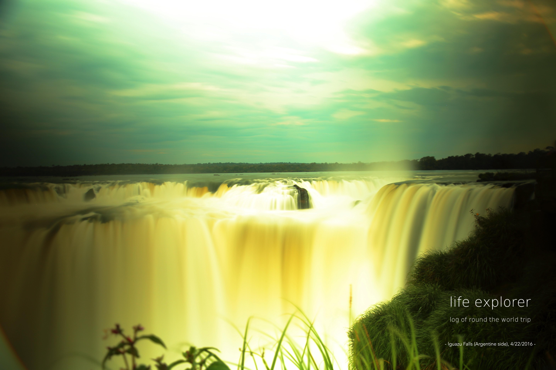 """#47 世界で最も迫力のある滝 「イグアスの滝」- The World's Most Powerful Fall """"Iguazu Falls"""""""