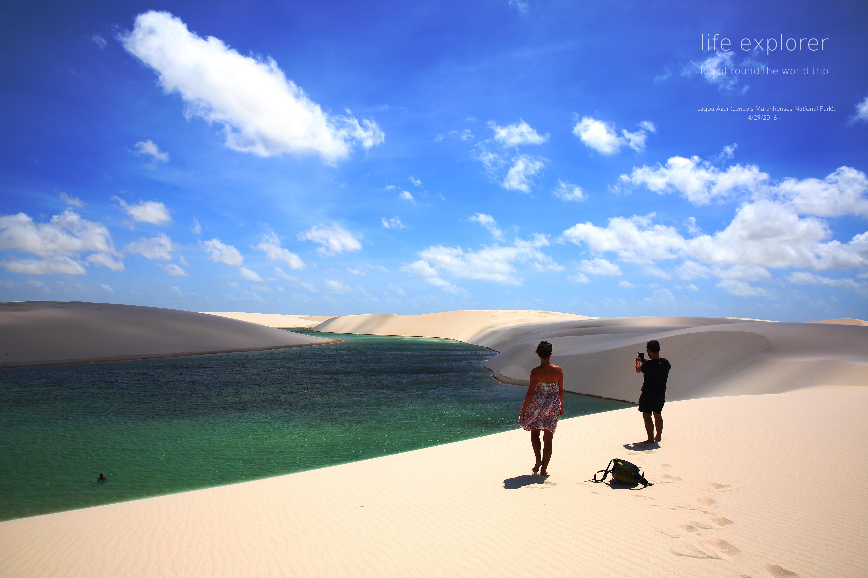 """#49 世界で最も白い砂漠 「レンソイス・マラニェンセス国立公園」- The World's Most White Desert """"Lencois Maranhenses National Park"""""""