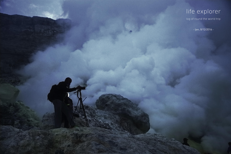"""#70 世界で最も蒼い炎 「イジェン火山」- The World's Most Blue Flame """"Ijen"""""""